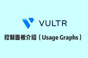 Vultr 使用教程:Vultr 官网控制面板使用介绍之 Usage Graphs 篇