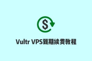 Vultr VPS到期时间说明,和自动续费/手动续费教程